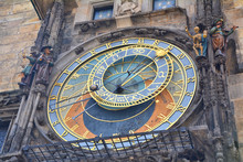 Astronomical Clock On Town Hal...