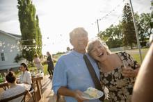 Happy Couple Celebrating Anniv...