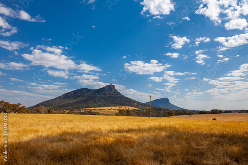 Mount Abrupt in Grampians National Park, Victoria, Austrlaia Canvas Print