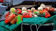 North America, Canada, Province Of Quebec, Lower North Coast, Lobster Trap Float