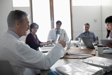 Doctors Consulting In Conferen...