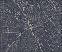 Map Of The City Of San Jose, C...