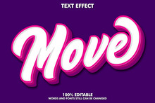 Modern Brush Text Effect With ...