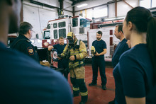 Firefighters Meeting, Checking...
