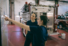 Female Firefighters Meeting, S...