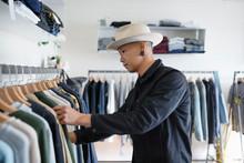 Stylish Man Shopping In Menswe...