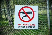 No Drone Zone Droner Forbudt
