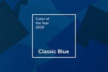 Classic Blue Geometric Paper B...