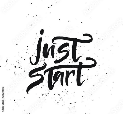 Valokuvatapetti Just start