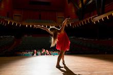 Female Dancer Performing For J...