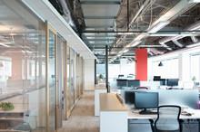 Open Plan Modern Office Interior