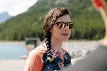 Woman In Sunglasses At Sunny L...