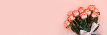 Banner 3:1. Bouquet Of Fresh P...