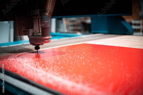 Photo Machine de découpe laser
