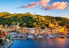 Portofino Town On Liguria Coas...