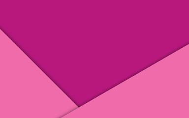 Fondo rosa con formas geométricas.