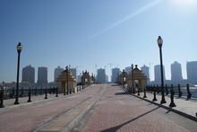 Doha Is The Capital Of The Qatar, An Unusual City