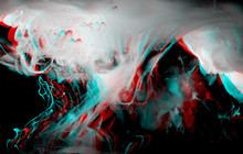 Abstract Glitch Background. Ac...