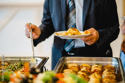 catering wedding buffet for events Wallpaper Mural