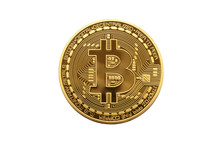 Bitcoin. Golden Bitcoin Isola...