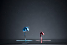 Contrasting Creative Blue And ...