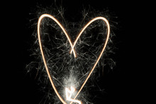 Creative, Heart-shaped Spark O...