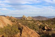 View Of Vasquez Rock