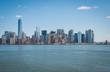 Manhattan island isolated