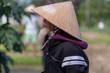 Leinwanddruck Bild  Old Man in Vietnam