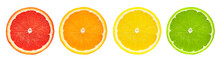 Group Of Fresh Citrus Fruits C...