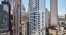 Panoramic View Of Manhattan Ar...