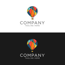 Logo Design Colorful Mosaic Ai...