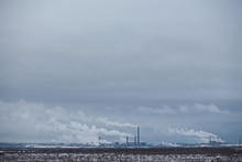 Winter Panorama Of Pulp Paper ...