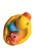 A Set Of Baby's Bathroom Toys