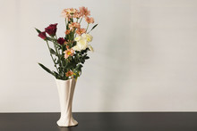 Fresh Various Flowers In Vase ...