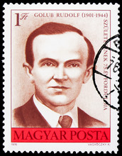 Postage Stamp Printed In Hunga...