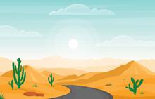Day In Vast Desert Rock Hill M...