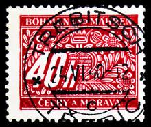 Postage Stamp Printed In Bohem...