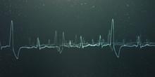 Heart With Cardiogram -2D Illu...