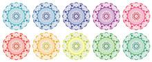 Mandala Patterns In Different ...
