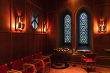 Interior Of The Mosaic Church