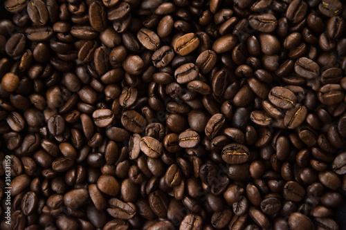 Fototapeta coffee beans background