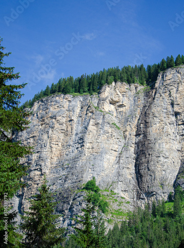 Fotografie, Tablou  Berge in Morzine Schiefer