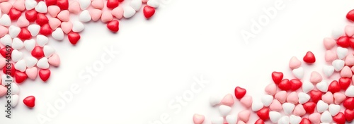 Photo Heart Candy background