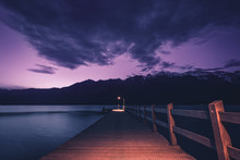 Evening At Glenorchy Wharf, Gl...