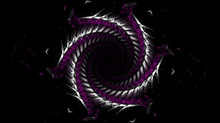 Abstract Fractal Background Sn...