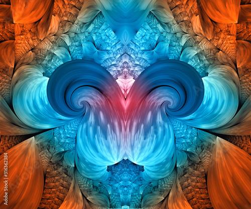 Obraz Computer generated fractal artwork - fototapety do salonu