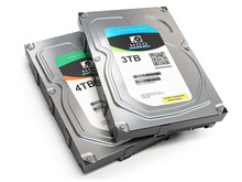 Hard Disk Drive HDD Of Differe...