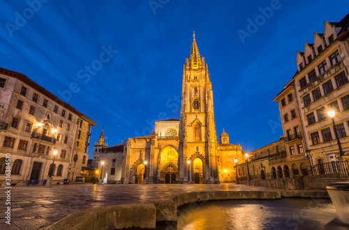 Catedral de Oviedo Canvas Print
