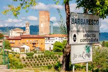 Barbaresco Village And Vineyar...